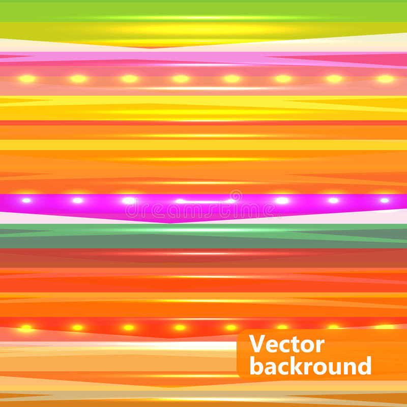 Bright colorful abstract background vector illustration