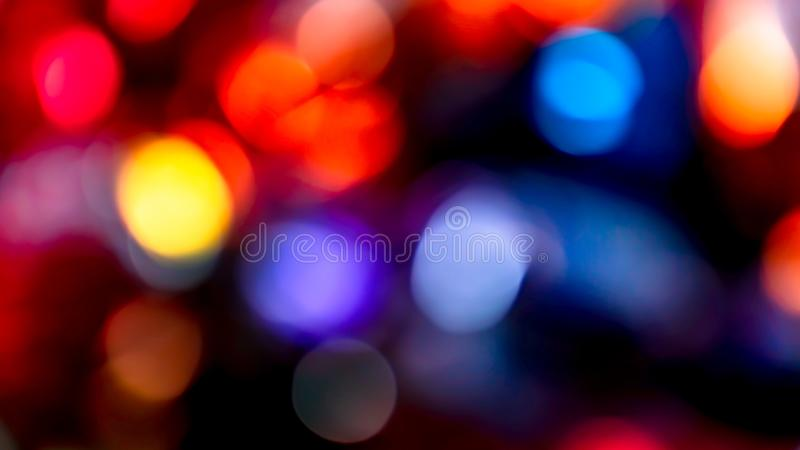 Bright and colorful bokeh stock images