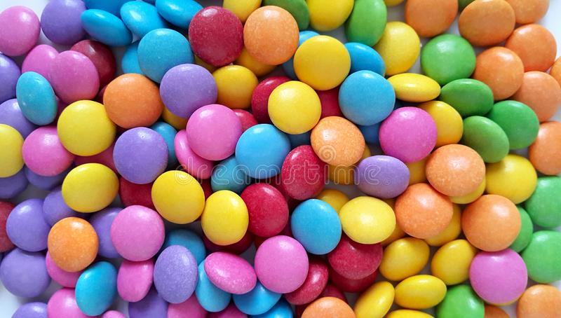 Bright colorful candy. Close up background royalty free stock photography
