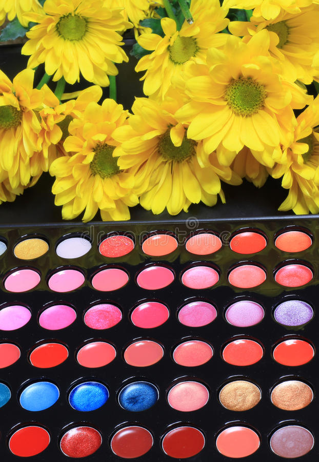 Download Bright colorful cosmetics stock photo. Image of cosmetics - 22083938