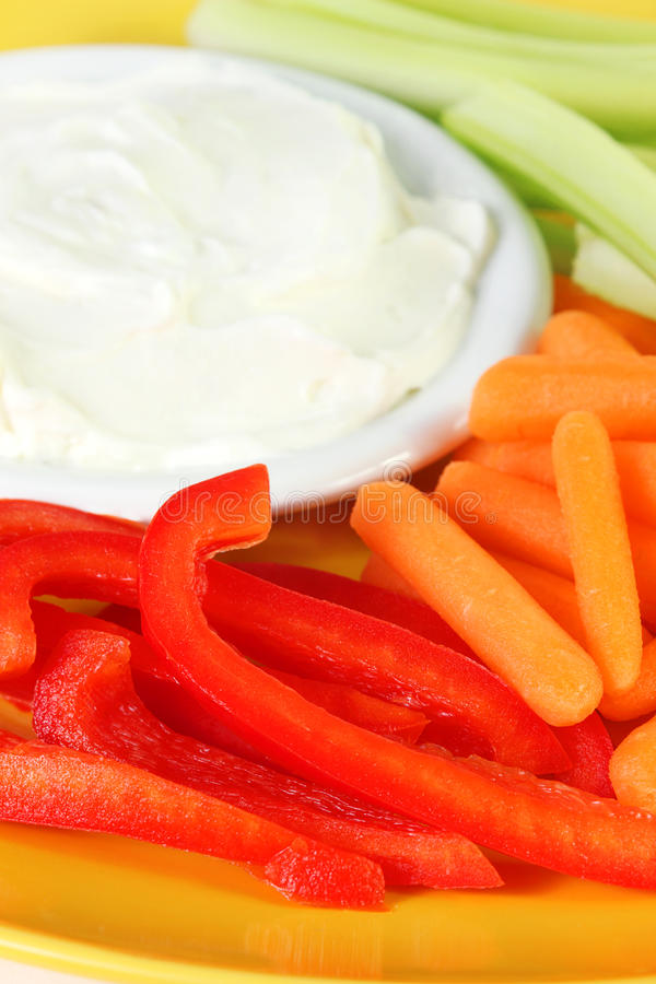Download Veggies and dip stock image. Image of food, snack, crunchy - 30218171