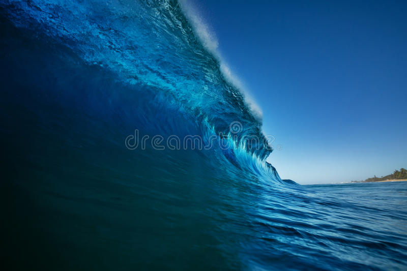Bright colorful ocean wave sea background royalty free stock image
