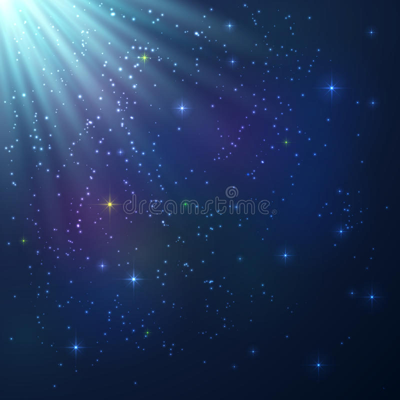 Download Bright Colorful Shining Cosmic Background Stock Vector - Image: 33226836