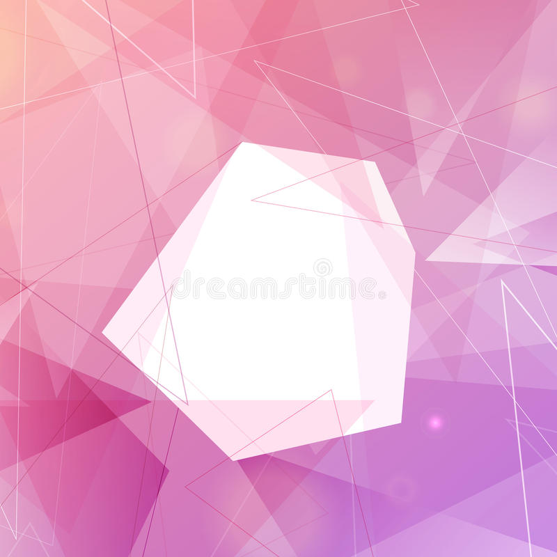 Bright colorful smooth modern background stock illustration