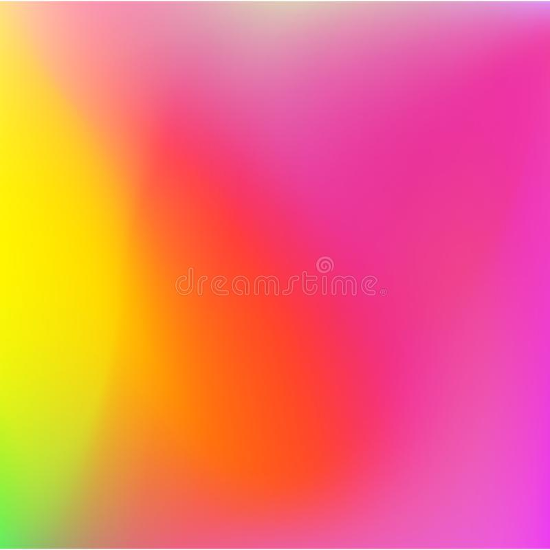 Bright colors gradient abstract soft background. Vector design. vector illustration