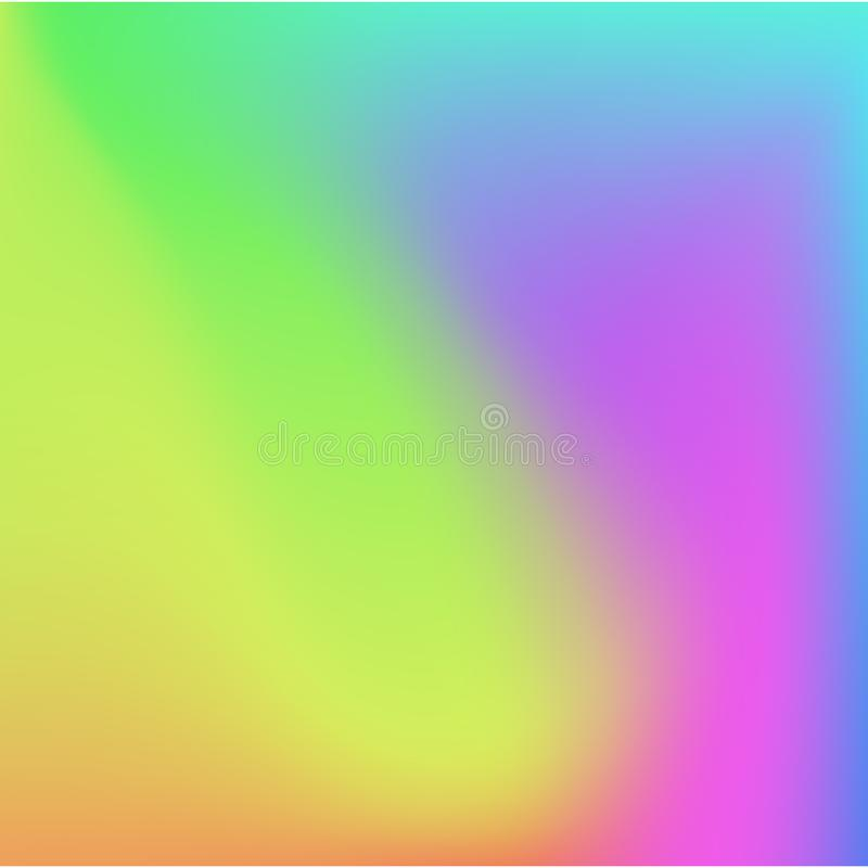 Bright colors gradient abstract soft background. Vector design. stock illustration