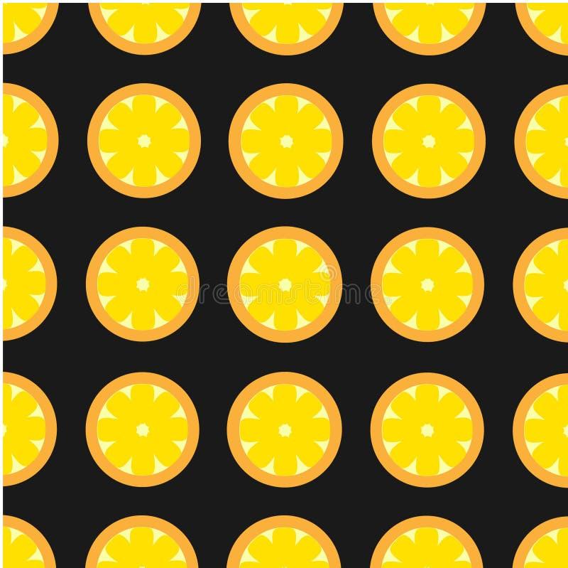 Bright Contrast Retro Cutaway Lemon Pattern stock photos