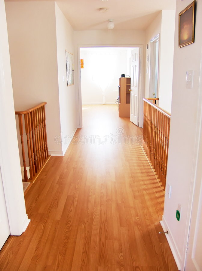 Free Bright Corridor In New House Royalty Free Stock Photos - 4942968