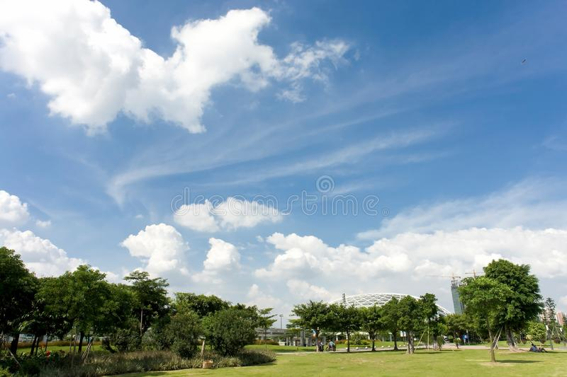 Bright day royalty free stock photo