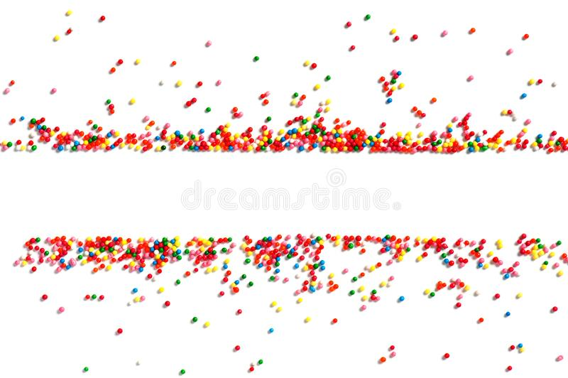 Bright festive background of multicolor candy royalty free stock photos