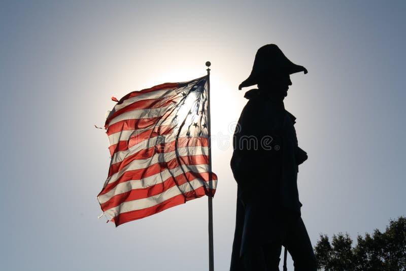 Bright Flag and Dark Shadow
