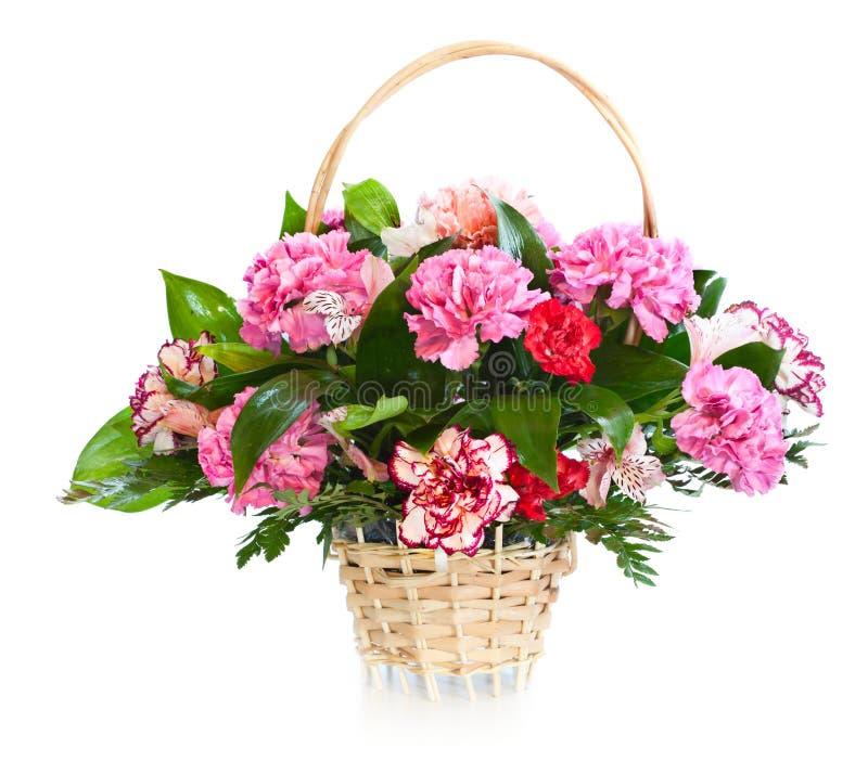 Bright flower bouquet stock photos