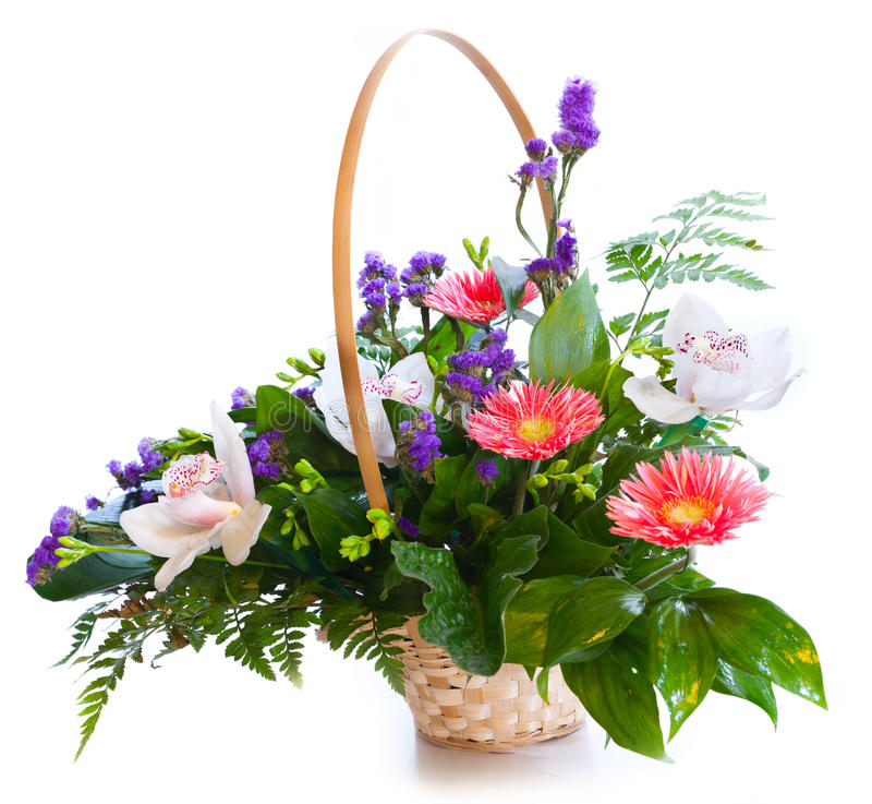 Bright flower bouquet royalty free stock image