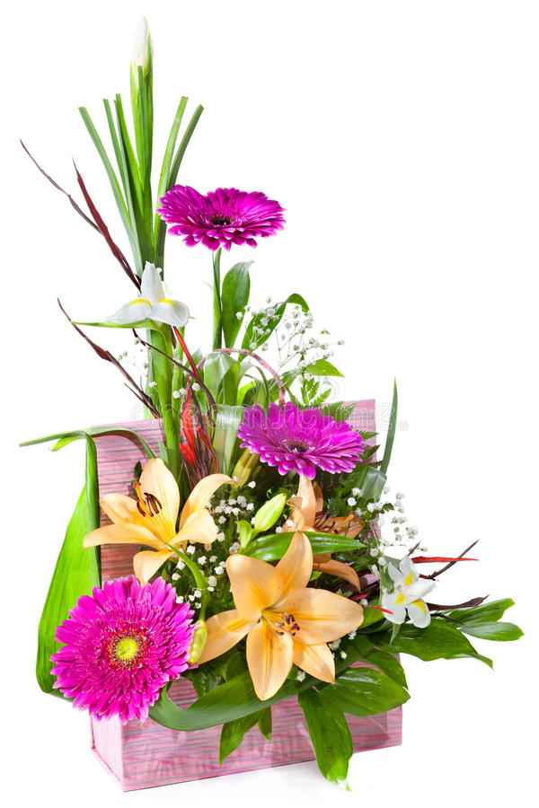 Free Bright Flower Bouquet Royalty Free Stock Image - 22487076