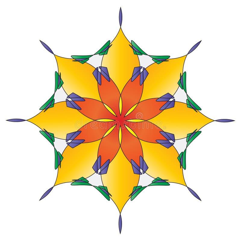 Free Bright Flower Mandala Royalty Free Stock Photo - 8037205