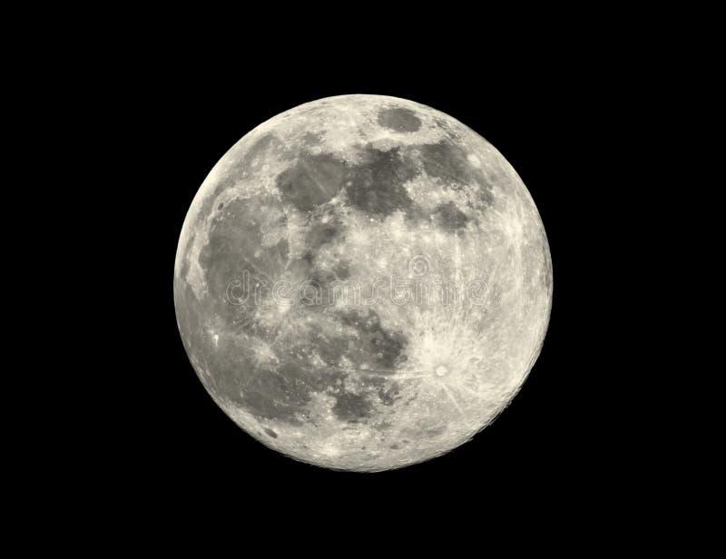 Bright Full Moon royalty free stock photo