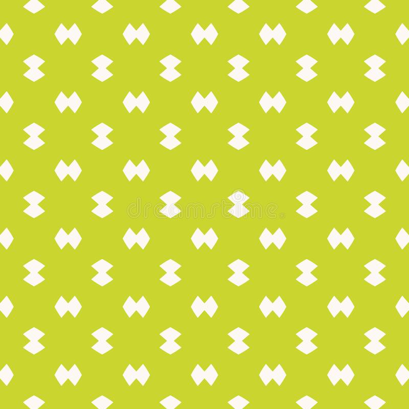 Bright funky green minimalist seamless pattern. Simple vector abstract texture royalty free illustration