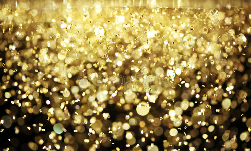 Download Bright gold glitter stock image. Image of festive, flakes - 29819239