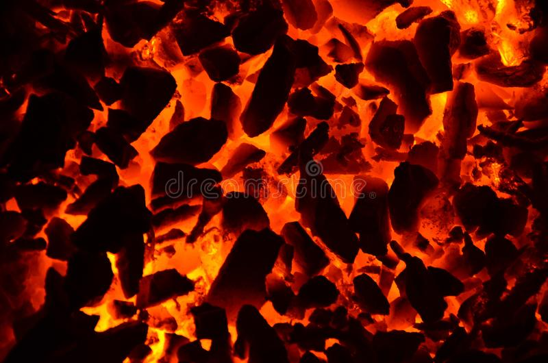 Bright graphic resource from the texture of burning coal. Bright graphic resource from the texture of burning coal anthracite stock photography