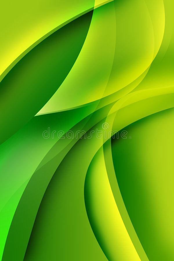 Bright green abstract royalty free stock photography
