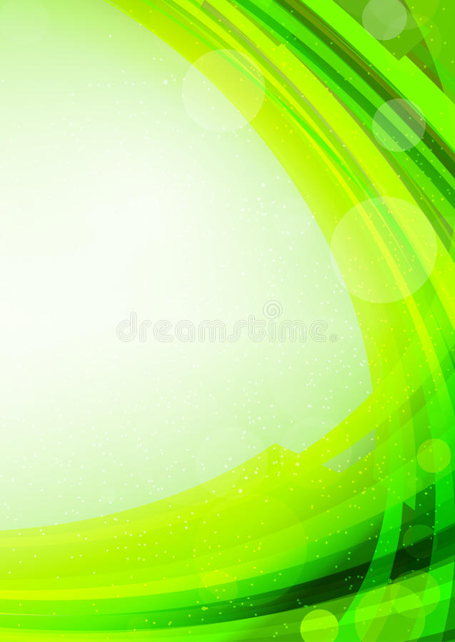Download Bright green background stock vector. Image of glowing - 26280272