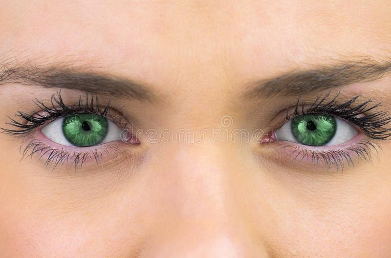 Woman Portrait Eyes Royalty Free Stock Images - Image ...