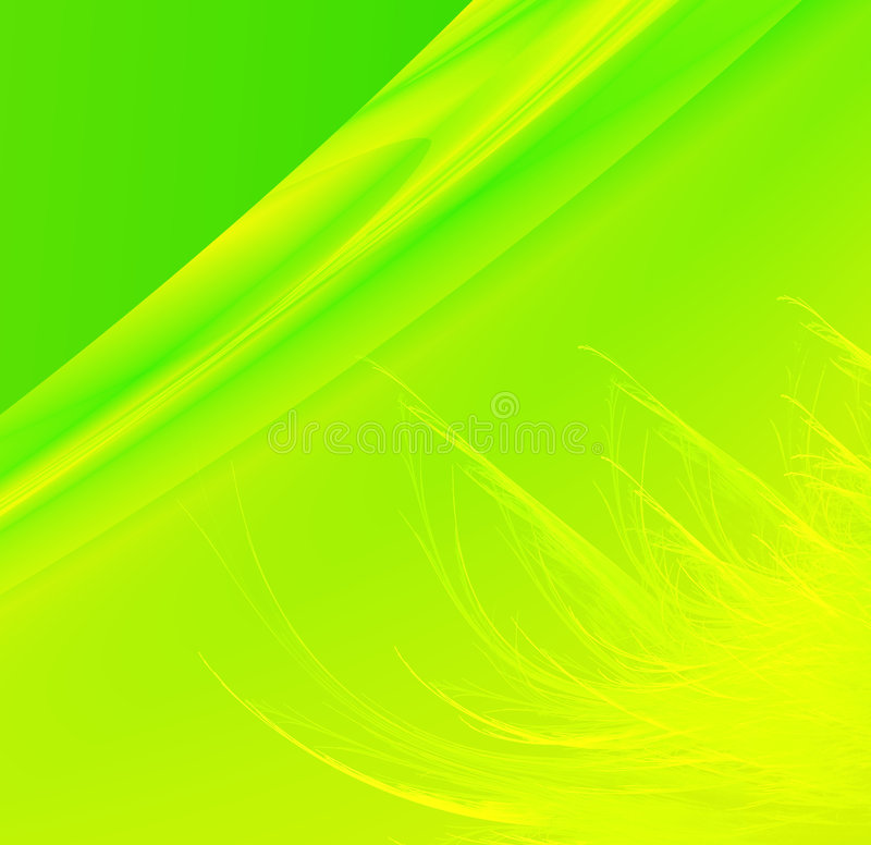 Download Bright Green Grassy Background Stock Illustration - Image: 5499326