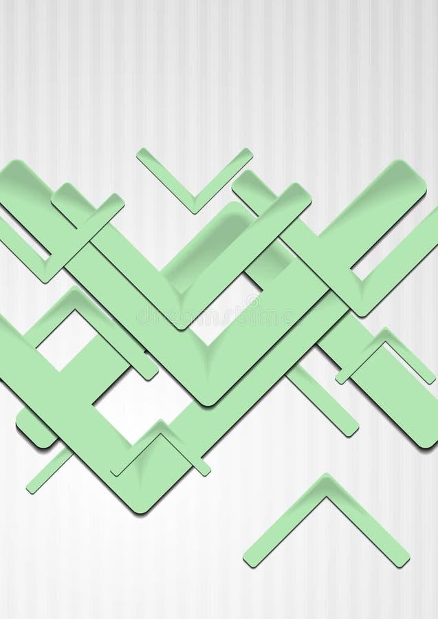 Download Bright Green Hi-tech Backdrop Stock Vector - Image: 27668818