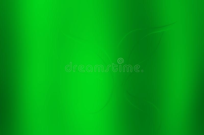Bright green leaf emboss texture background vector illustration