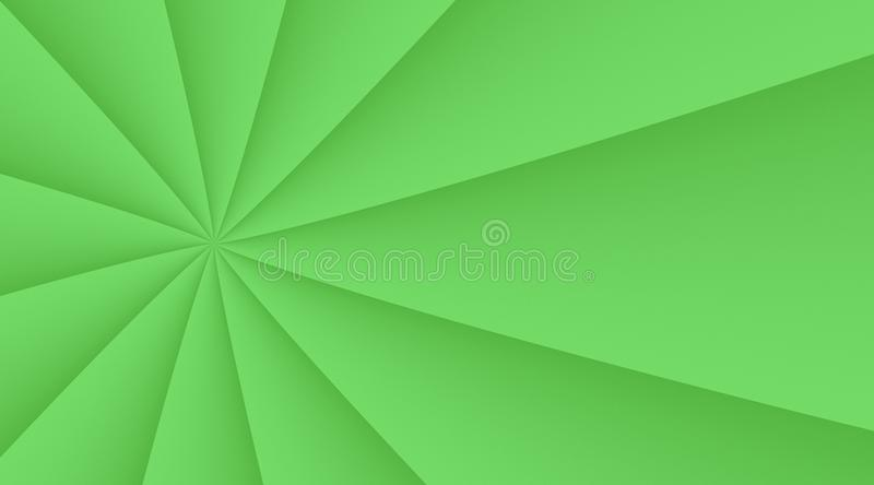 Bright green smooth spinning circling lines background illustration design. Computer generated abstract fractal background illustration featuring a fresh bright vector illustration