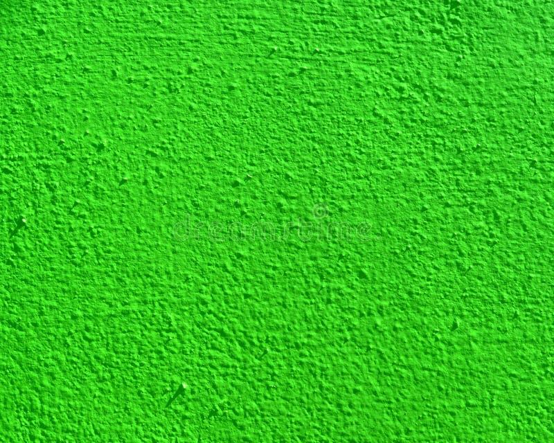 Bright green wall texture royalty free stock photos