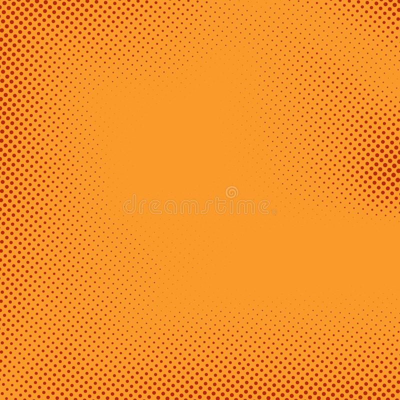 Download Bright Halftone Comic Book Style Background Stock Vector