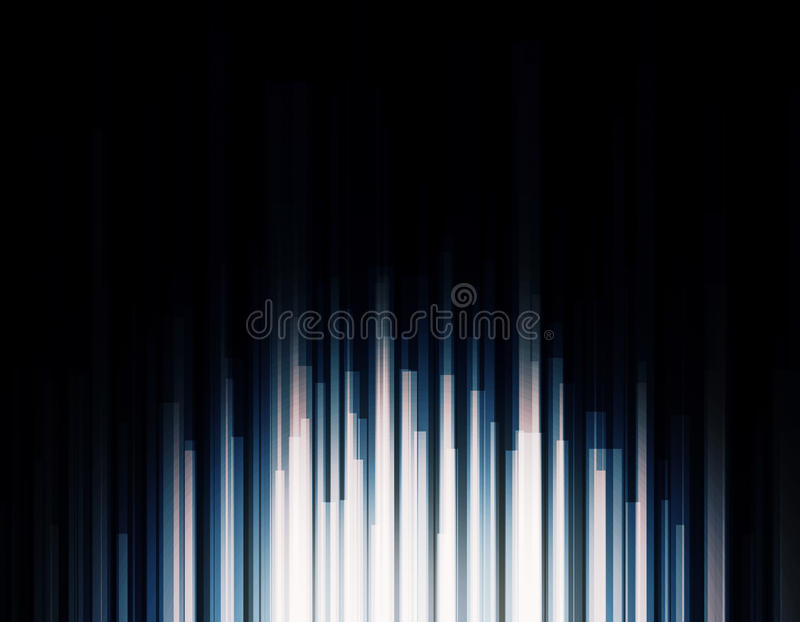 Bright high tech backdrop royalty free illustration