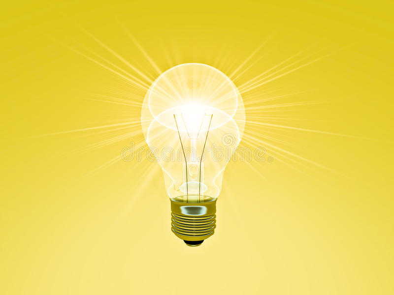 A Bright Idea stock illustration