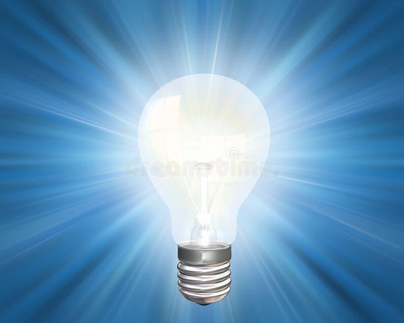 Bright idea stock illustration