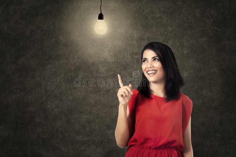 Download Bright idea stock image. Image of happy, asian, filipino - 34077611