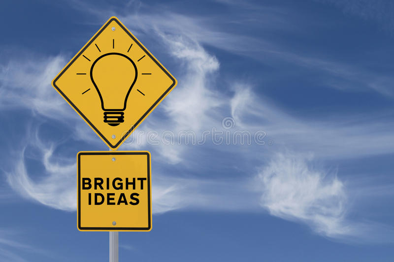 Bright Ideas stock photos