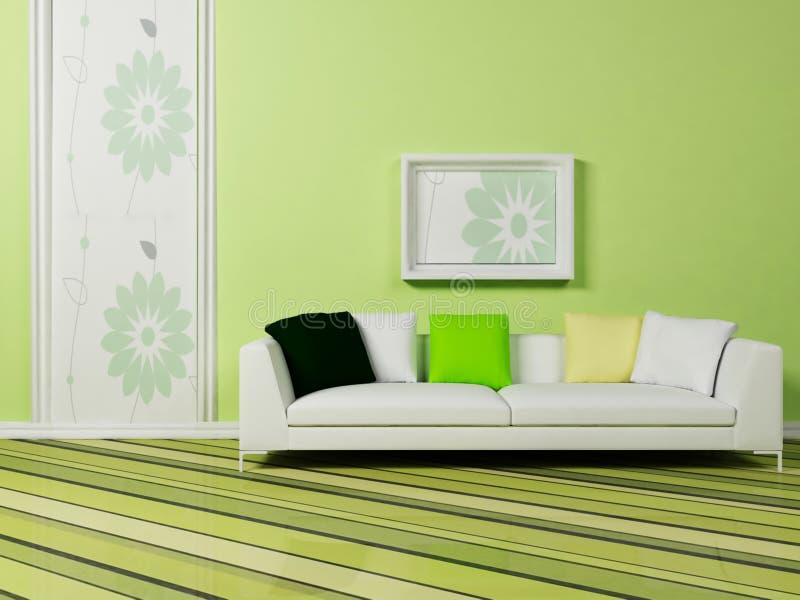 Bright Interior Design Royalty Free Stock Photography