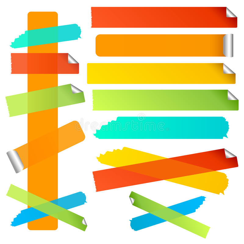 Download Bright Labels Set 1 stock vector. Illustration of label - 12690743