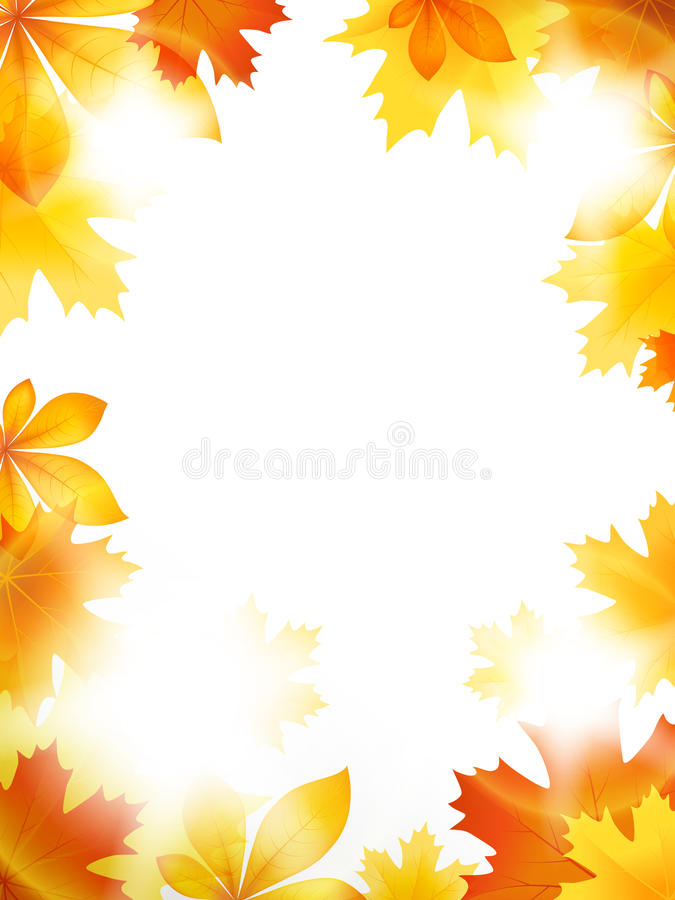 Download Bright leaves stock vector. Image of abstract, sunny - 33973015