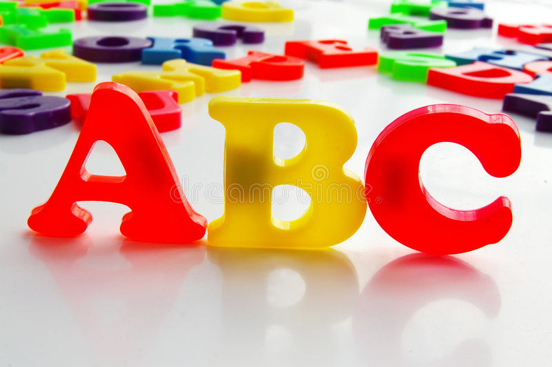 Download Bright letters stock image. Image of play, intelligent - 1712963