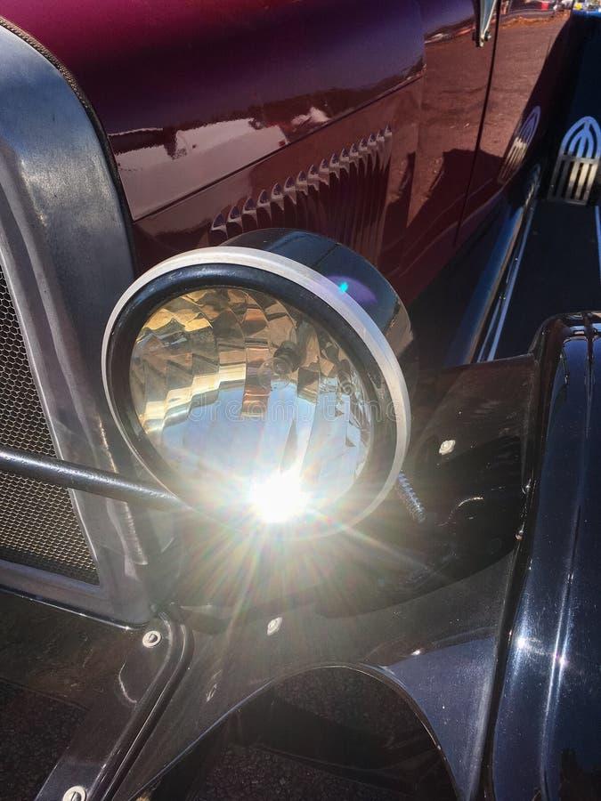 Bright Heritage Car Light stock image