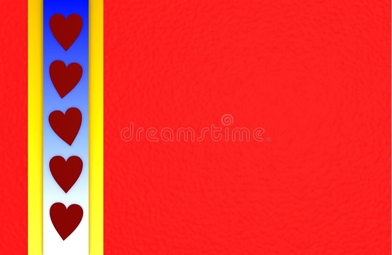 Bright Love Background Royalty Free Stock Images