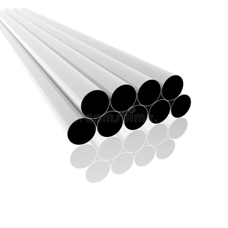 Free Bright Metal Tubes Stock Photos - 12932463
