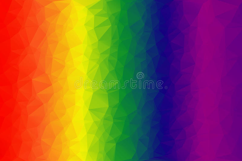 Bright multi-colored background. Spectrum of colors stock illustration