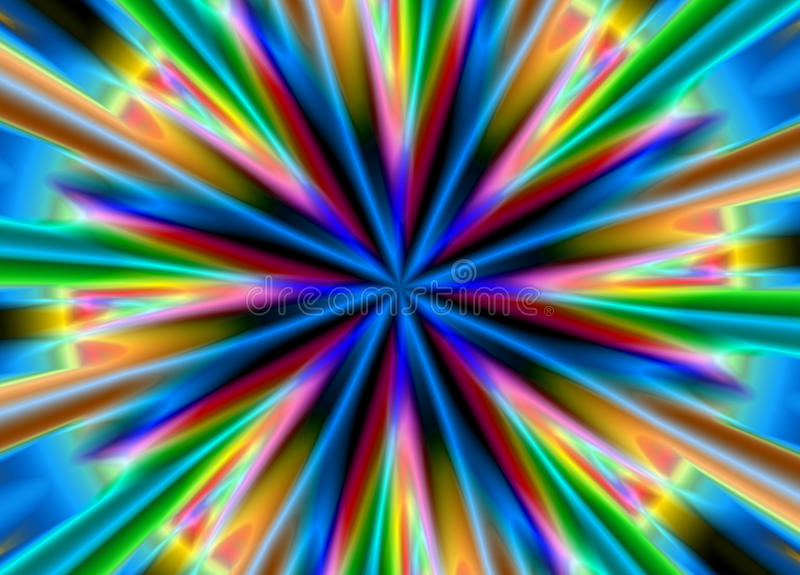 Bright multi-coloured background royalty free illustration