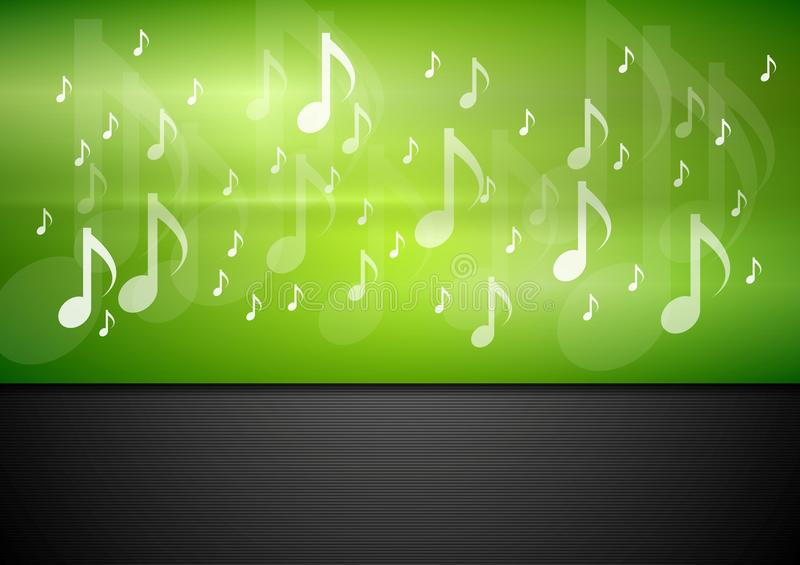 Bright music vector background stock illustration