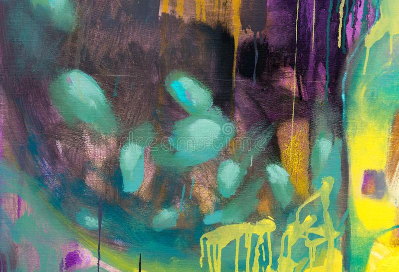 Bright new abstract painting work for strict design. royalty free stock images