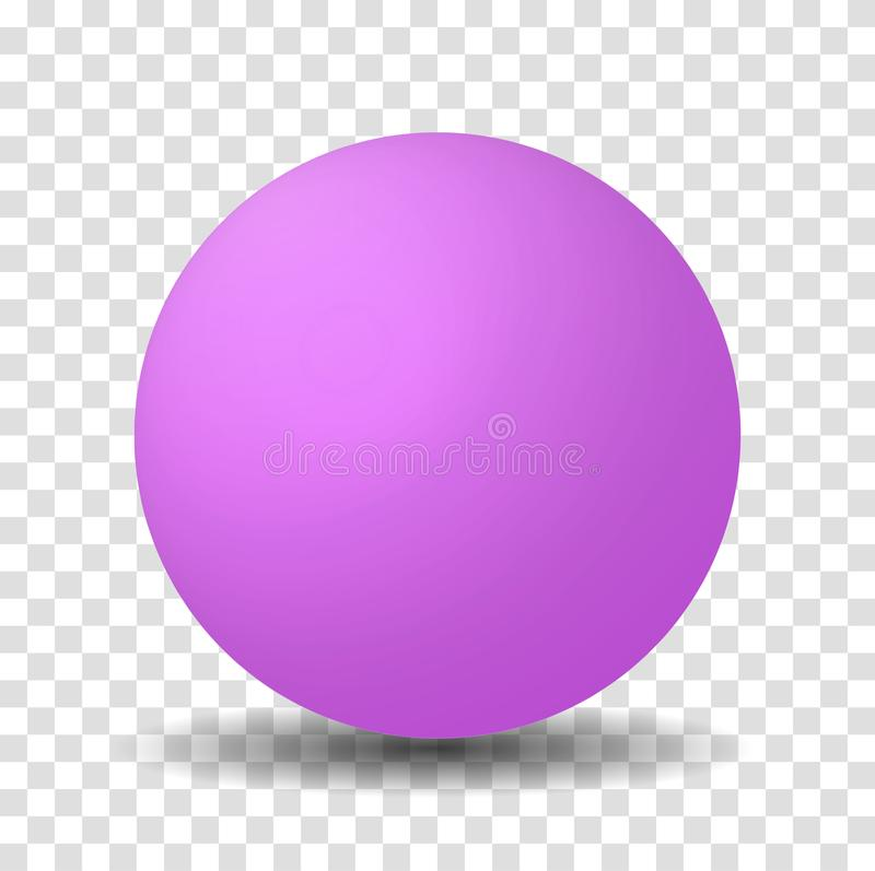 Free Bright Pink Or Purple Sphere Ball Stock Image - 140611011