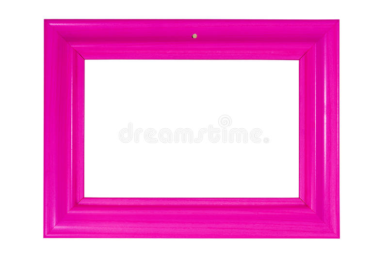 Download Bright pink photo frame stock image. Image of background - 10367167